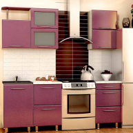 Клён/Фиолетовый металлик